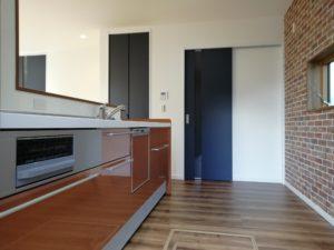 室内:キッチン
