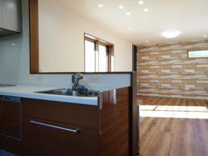 室内:キッチン~リビング